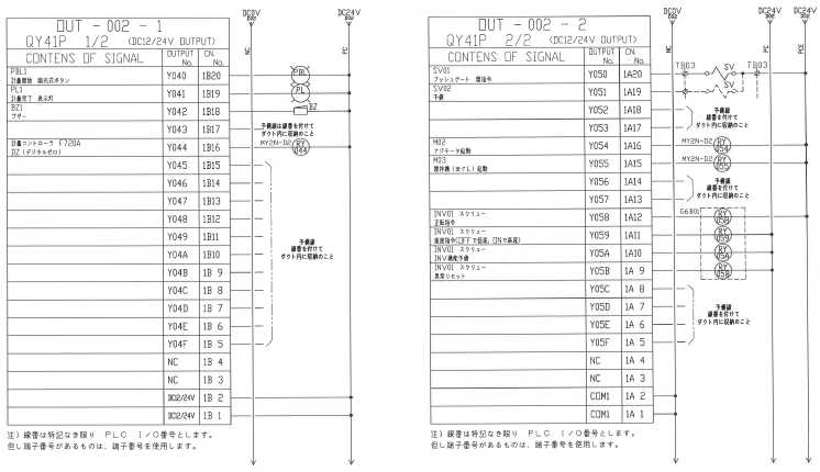 PLC回路設計